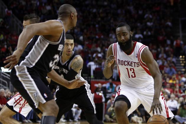 Harden Comes Back to Haunt Spurs Again