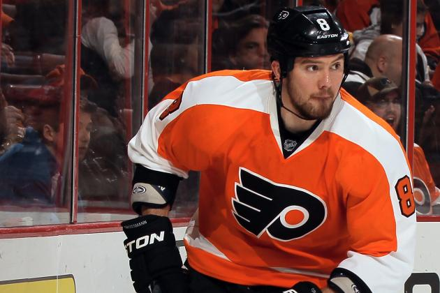 Flyers Defenseman Nicklas Grossmann out with Upper-Body Injury