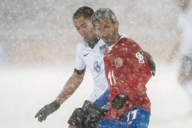 World Cup: Costa Rica Complain to FIFA After Snowstorm Defeat by USA