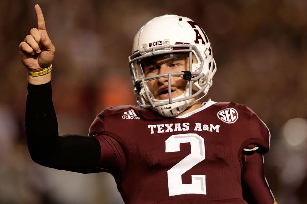 Johnny Manziel Shoving a Grad Assistant at Spring Practice? That's Just Football