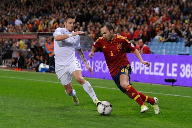 France vs. Spain: Date, Time, Live Stream, TV Info for 2014 World Cup Qualifier