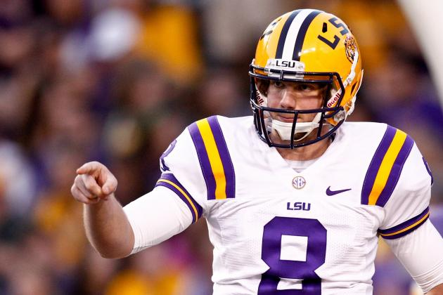 LSU QB Zach Mettenberger's Scrimmage Stats a Good Sign for Tigers