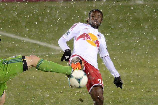 Peguy Luyindula Delivers Mixed Performance in New York Red Bulls Debut