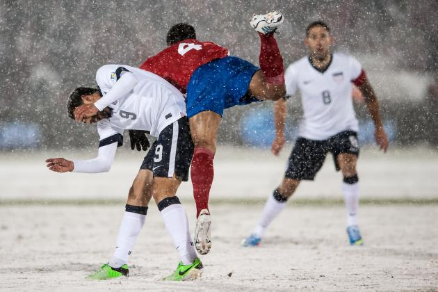 FIFA Studying Costa Rica Protest After Loss to USA in Blizzard Conditions