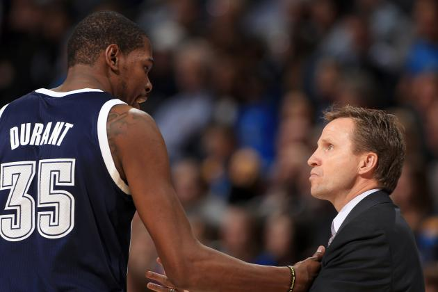 Kevin Durant Helped the OKC Thunder Retain Scott Brooks as Head Coach
