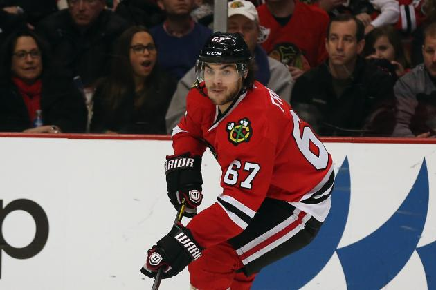 Chicago Blackhawks: Home Stretch Starts with Michael Frolik Monday vs. Kings
