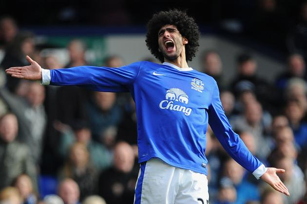 Why Everton Fans Should Prepare for Fellaini's Inevitable Departure