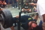 Watch: Texas Football Player Benches 700lbs