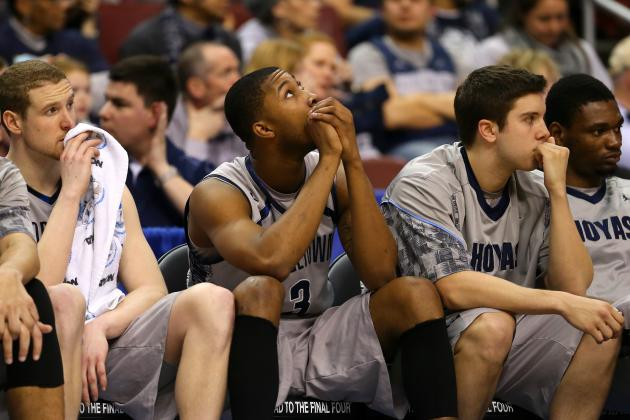 'Extremely Disappointed' Hoyas May Turn That Frown Upside Down
