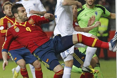 Everton Target Negredo Angling for a Move to England