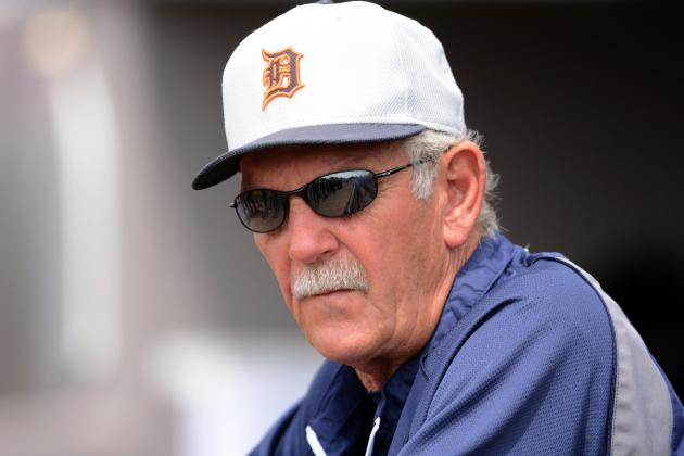 Tigers Manager Jim Leyland Rolls with Repetitive Questions