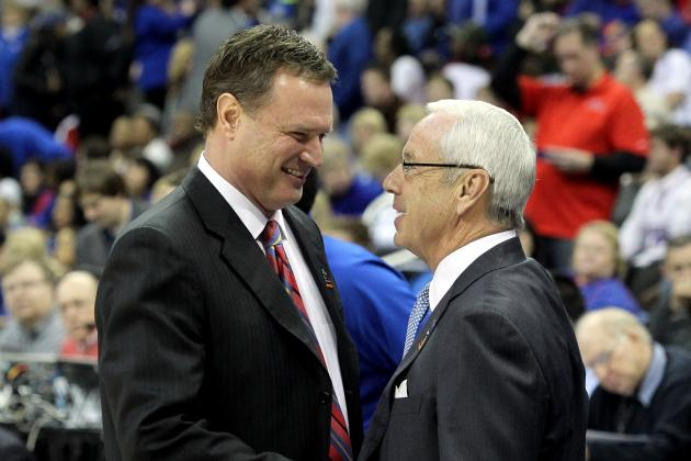 Bill Self Wins 300th at KU and Takes Down Roy Williams in the Process
