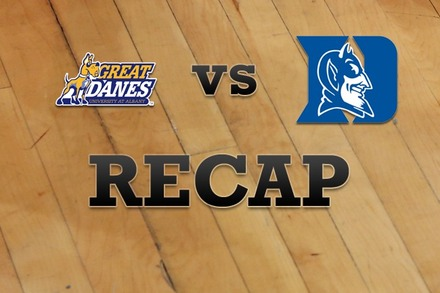 Albany vs. Duke: Recap, Stats, and Box Score