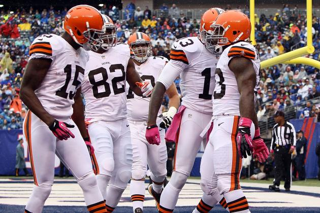 Browns' Uniform Changes Could Come in '15