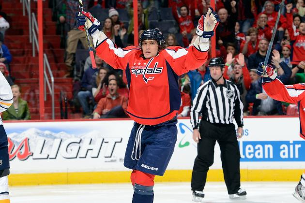 "Alex Ovechkin Named NHL's ""First Star"" of the Week"