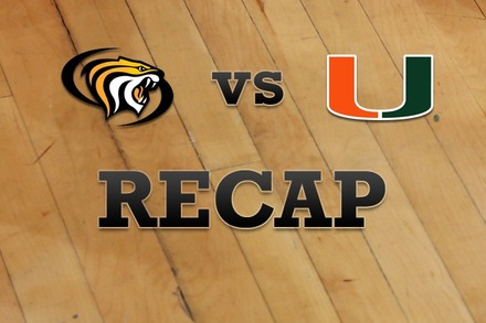 Pacific vs. Miami: Recap, Stats, and Box Score