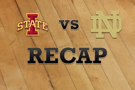 Iowa State vs. Notre Dame: Recap, Stats, and Box Score