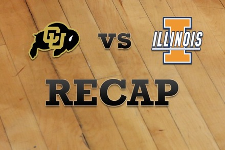 Colorado vs. Illinois: Recap, Stats, and Box Score