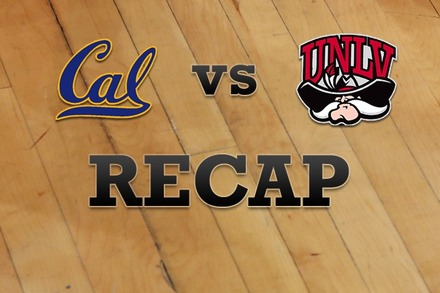 California vs. UNLV: Recap, Stats, and Box Score