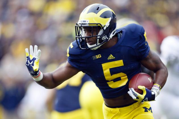 Michigan Seeking Improvement from RBs