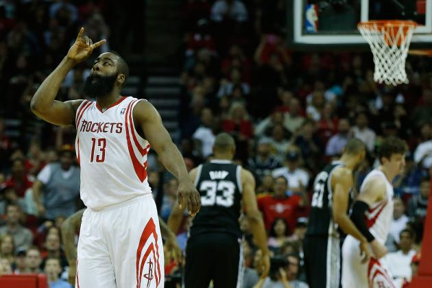 Breaking Down How Houston Rockets Use 3 Offensive Sets to Torch Opposition