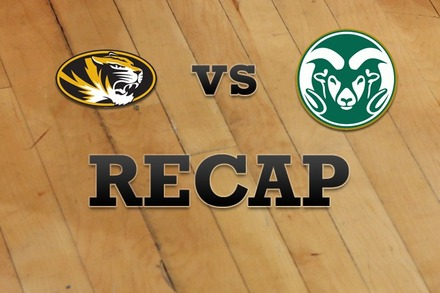 Missouri vs. Colorado State: Recap, Stats, and Box Score