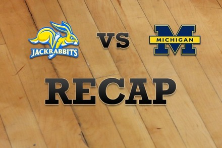 South Dakota State vs. Michigan: Recap, Stats, and Box Score