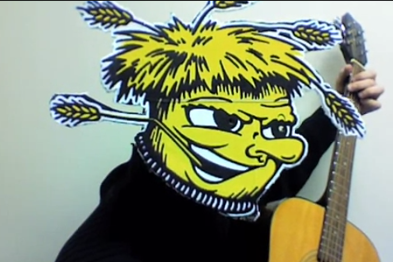 VIDEO: Dude with a Guitar Writes Song for Wichita State