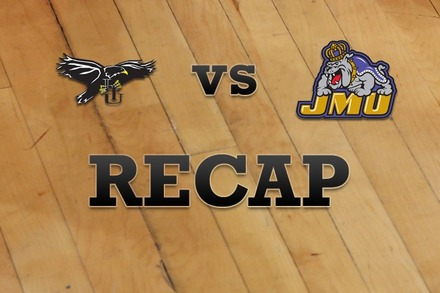Long Island vs. James Madison: Recap, Stats, and Box Score