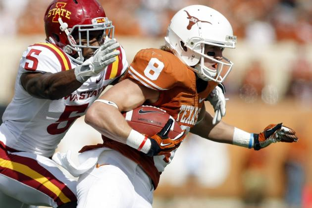 Texas Longhorns Treating Jaxon Shipley (strained Hamstring) as Day-to-Day
