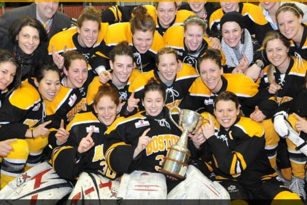 Kelley Steadman's Heroic Performance Propels Boston Blades to Clarkson Cup