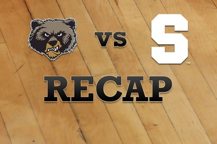Montana vs. Syracuse: Recap, Stats, and Box Score