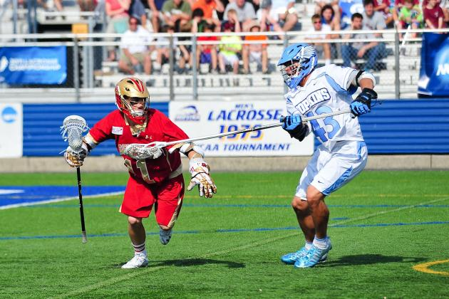 NCAA Lacrosse: Updated Mid-Season Rankings 3/25/13