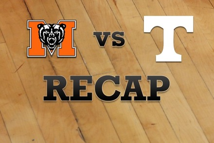 Mercer vs. Tennessee: Recap, Stats, and Box Score