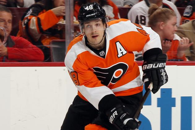 Briere out Indefinitely Due to Concussion