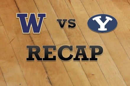 Washington vs. Brigham Young: Recap, Stats, and Box Score