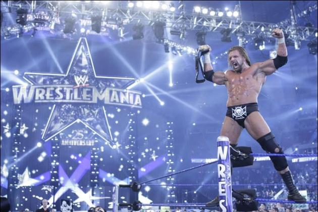 Triple H Was Built for WrestleMania