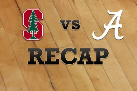Stanford vs. Alabama: Recap, Stats, and Box Score