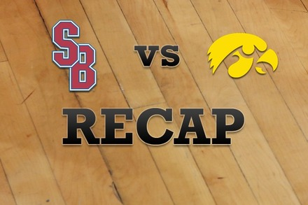 Stony Brook vs. Iowa: Recap, Stats, and Box Score
