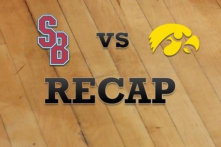 Stony Brook vs. Iowa: Recap, Stats, and Box Score