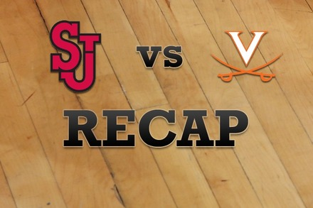 St John's vs. Virginia: Recap, Stats, and Box Score