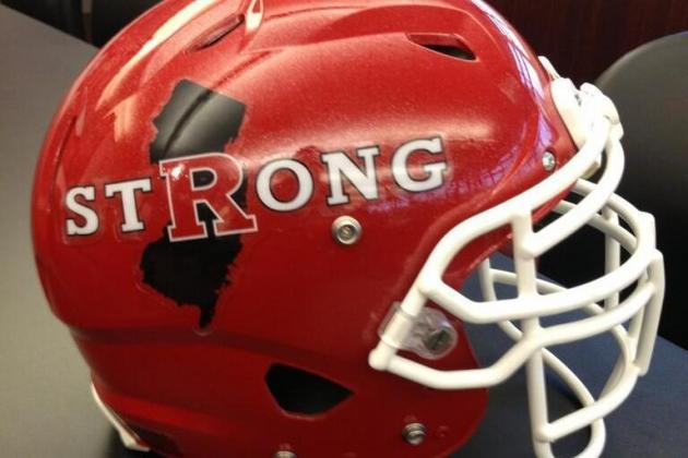 Rutgers to Honor Super Storm Sandy Victims with Spring Game Helmet & Uniforms