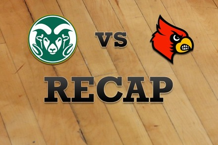 Colorado State vs. Louisville: Recap, Stats, and Box Score