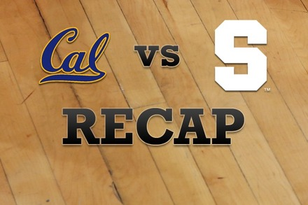 California vs. Syracuse: Recap, Stats, and Box Score