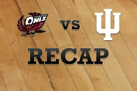 Temple vs. Indiana: Recap, Stats, and Box Score