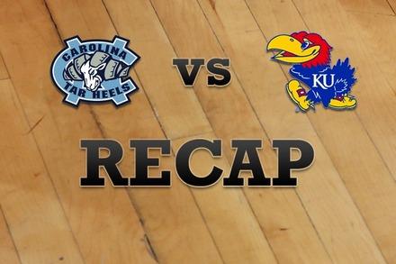 North Carolina vs. Kansas: Recap, Stats, and Box Score