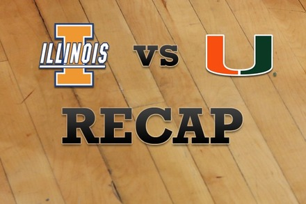 Illinois vs. Miami: Recap, Stats, and Box Score