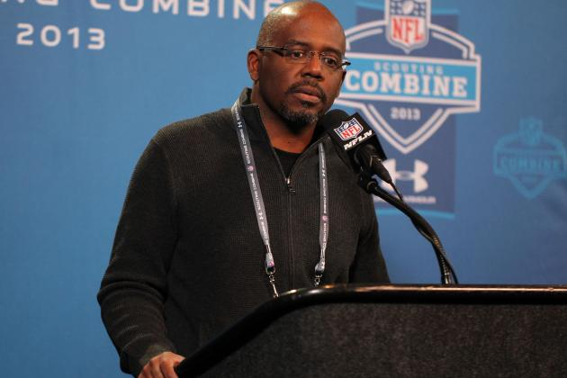 Detroit Lions GM Martin Mayhew Says He Loves Lineman, Not Receivers