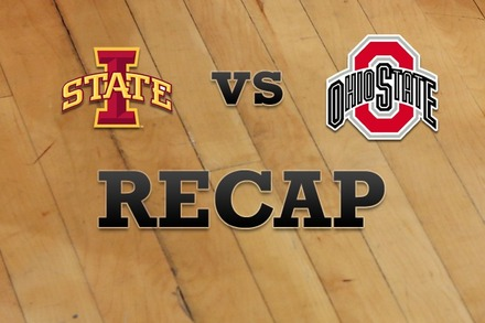 Iowa State vs. Ohio State: Recap, Stats, and Box Score