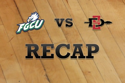 Florida Gulf Coast vs. San Diego State: Recap, Stats, and Box Score
